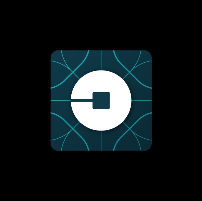 Uber New Logo transparent PNG.