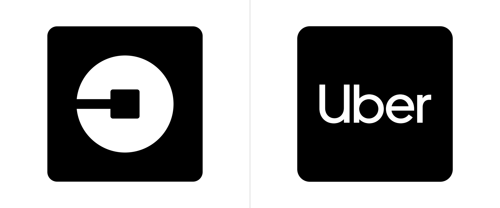 Brand New: New Logo and Identity for Uber by Wolff Olins and.