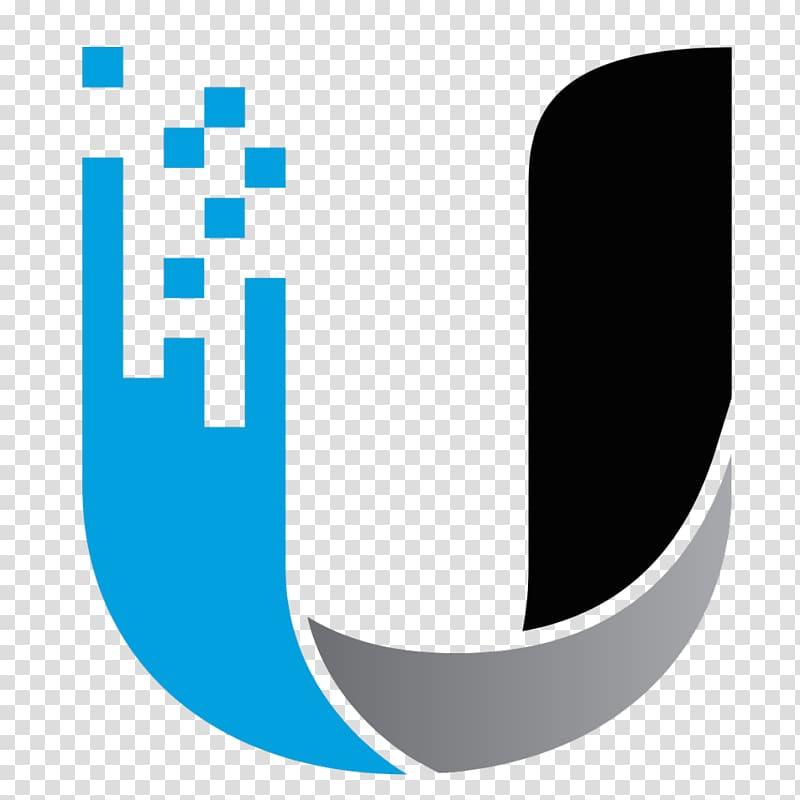 Blue and black U logo illustration, Ubiquiti Networks.