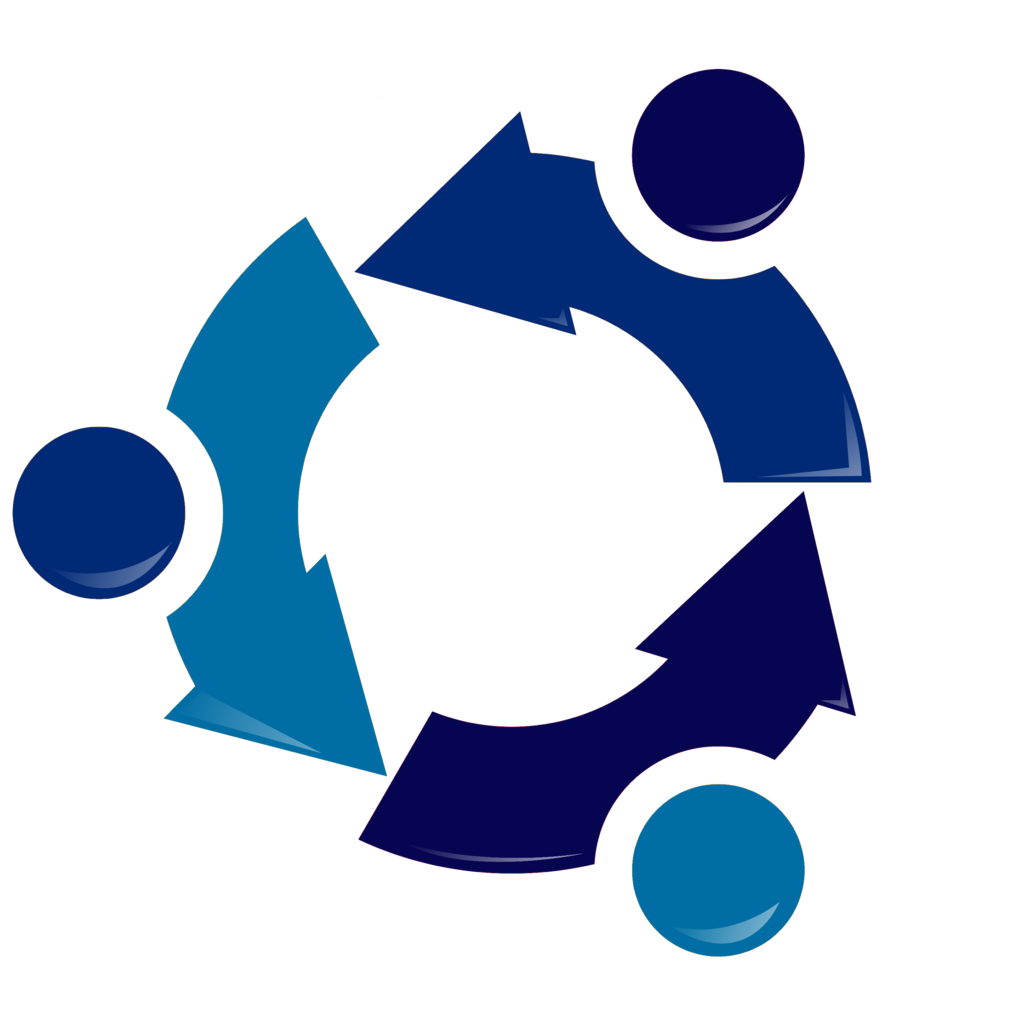 Ubuntu Recycling logo.