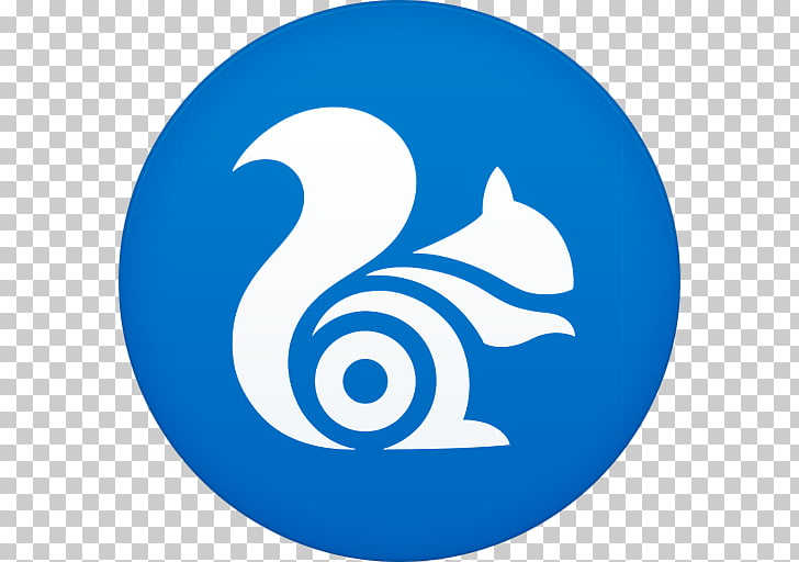 Blue area symbol , Uc browser, UC browser icon PNG clipart.