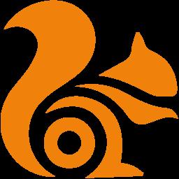 Uc Logo Icon of Flat style.