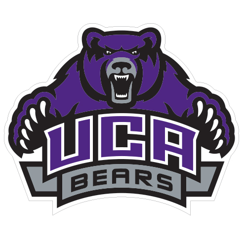 Central Arkansas Extra Large Decal UCA Bears w/Bear, 18 in W.