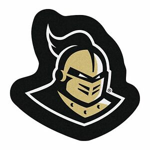 Details about UCF Knights Mascot Decorative Logo Cut Area Rug Floor Mat.