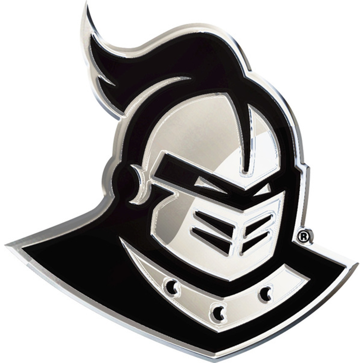 Details about University of Central Florida UCF Knights Logo Auto Solid  Metal Emblem.