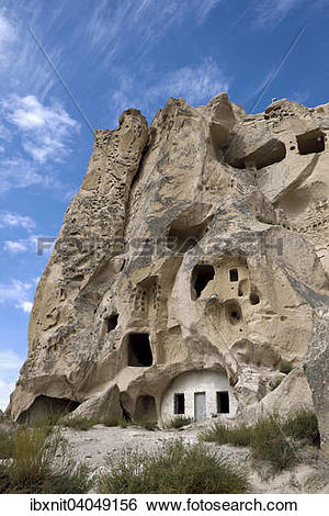 """Stock Images of """"Cave dwellings, Uchisar, Nevsehir Province."""