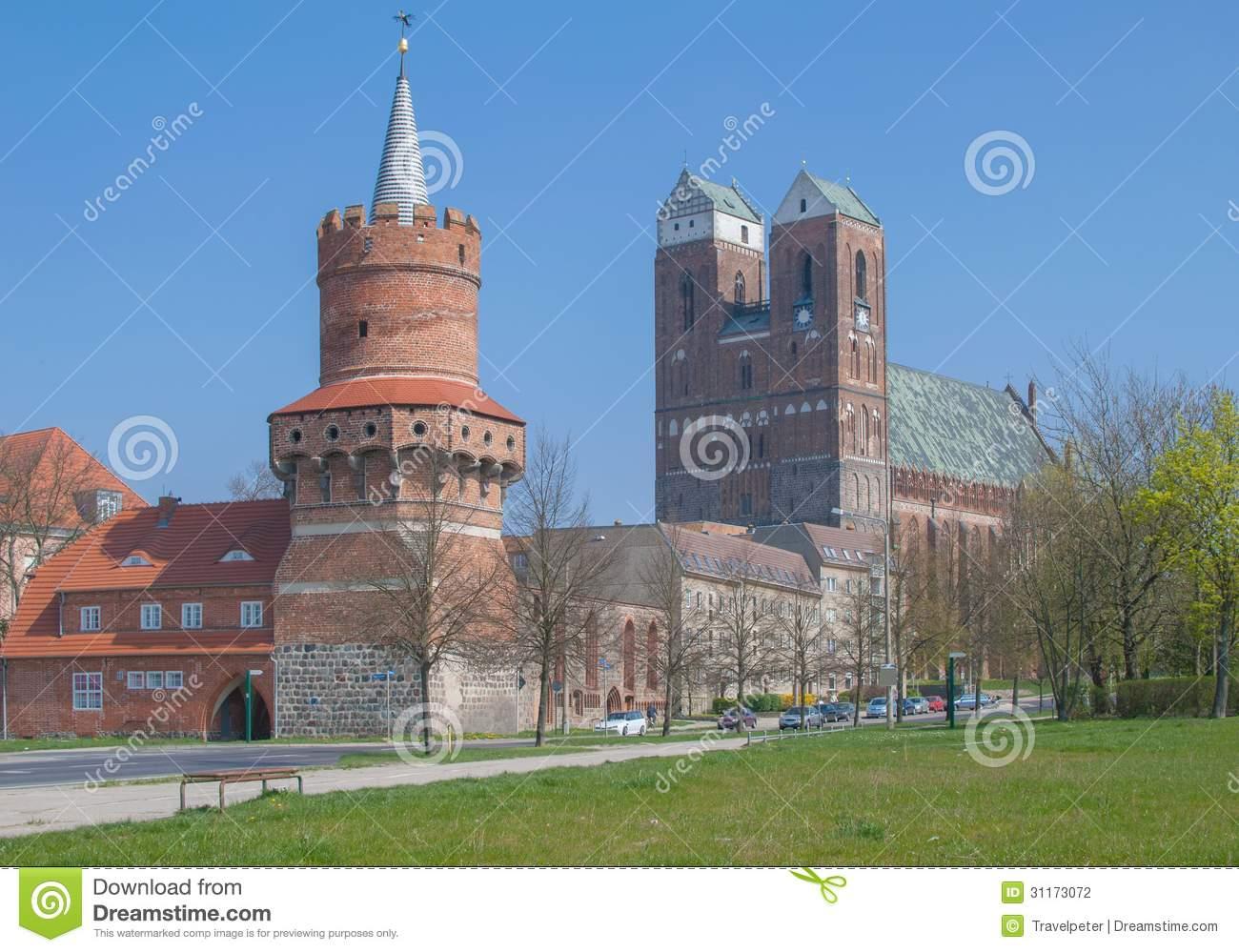Prenzlau,Uckermark Region,Brandenburg,Germany Stock Photography.