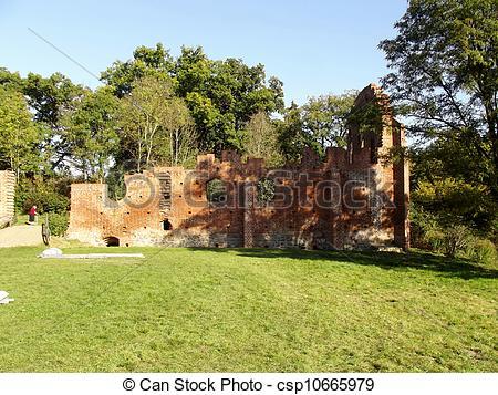 Bilder von boitzenburg, Ruinen, Abtei.