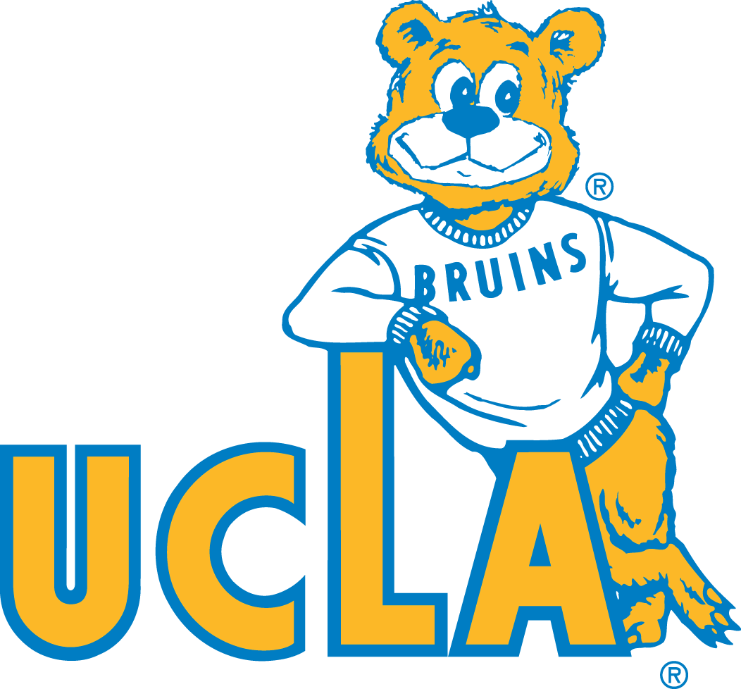 UCLA Bruins Secondary Logo (1964).