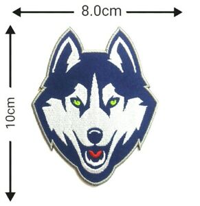 Details about UConn Huskies Basketball NCAA Sport Patch Logo Embroidery  Iron,Sewing on.
