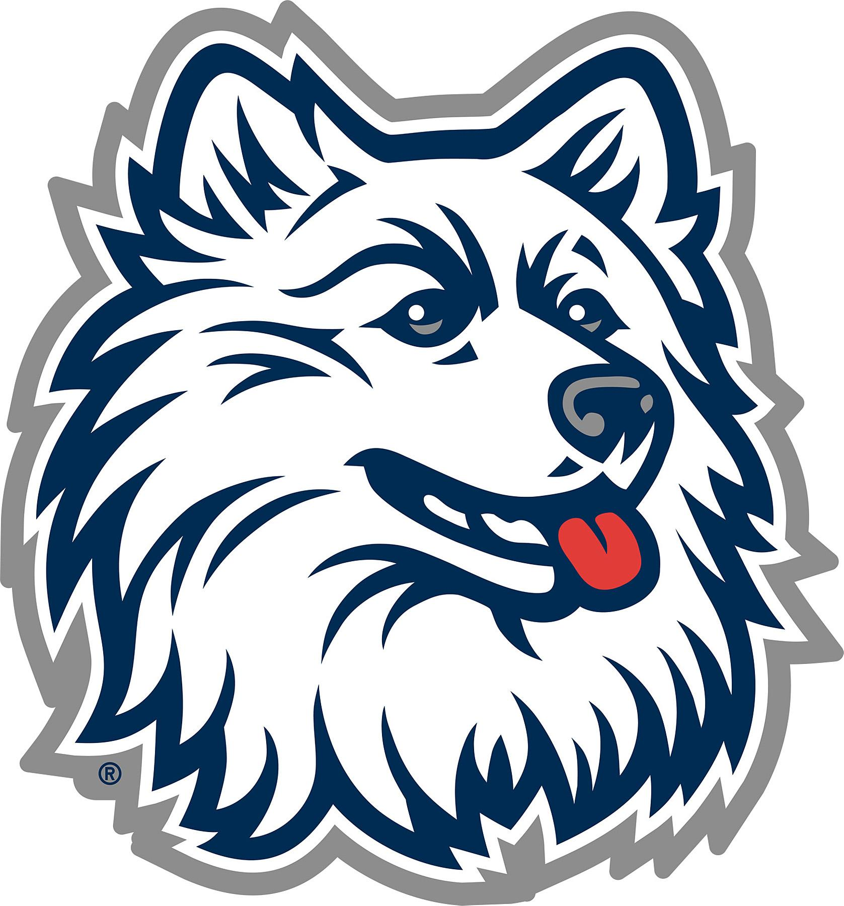 Brewster Wallcovering UConn Huskies Logo Fathead Jr Wallpaper.