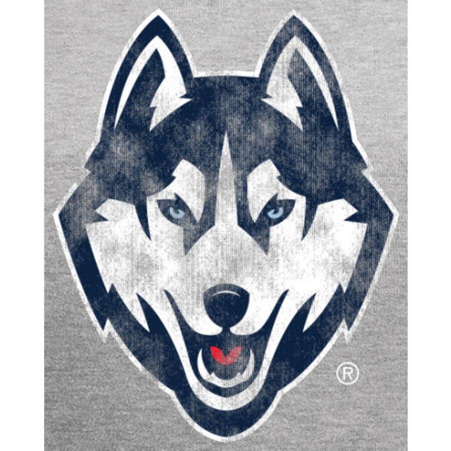 UConn Huskies Classic Primary Logo Pullover Hoodie.