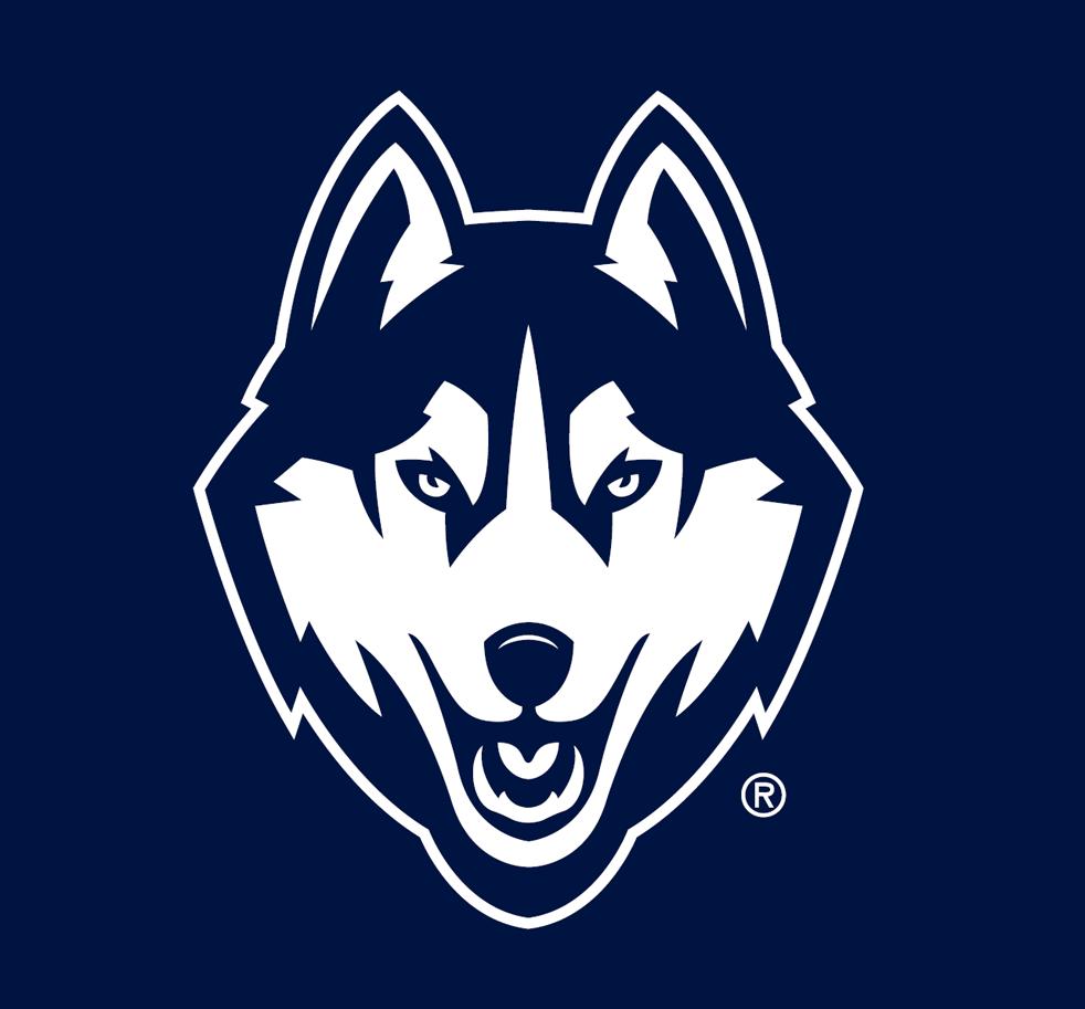 UConn Huskies Partial Logo.