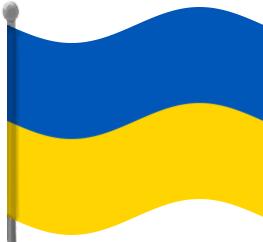 Ukraine Flag Clipart.