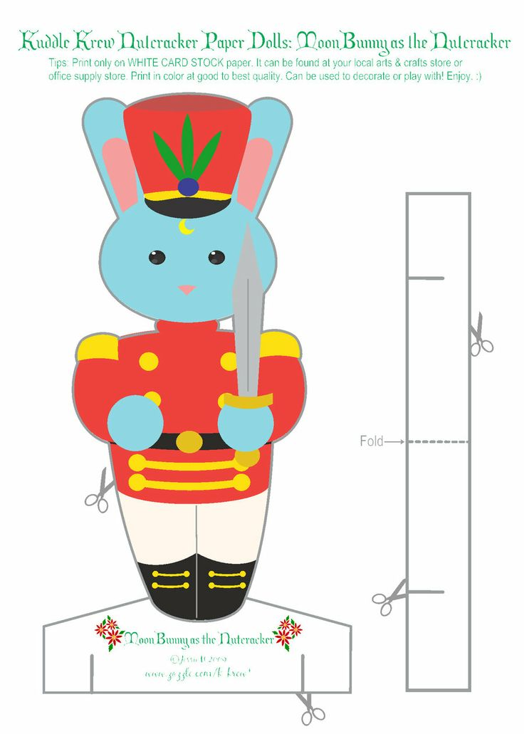1000+ images about Nutcracker Clipart, Cutout, Coloring Pages on.