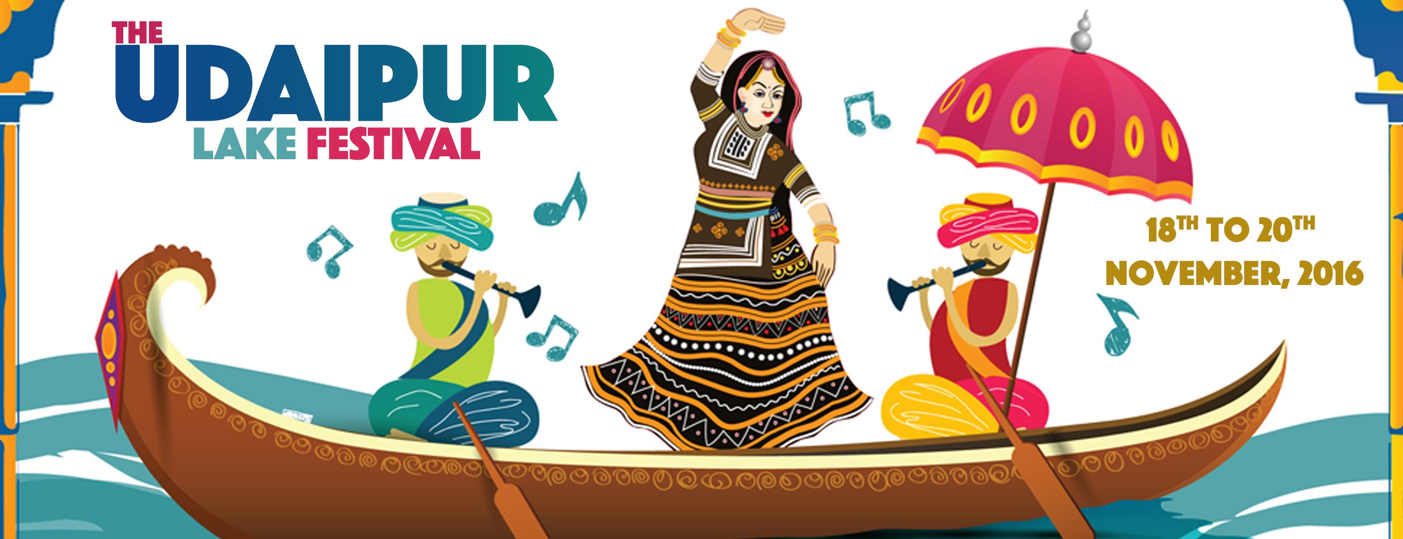 The Udaipur Lake Festival 2016.