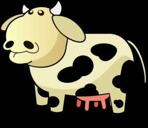 Cow udder clipart.