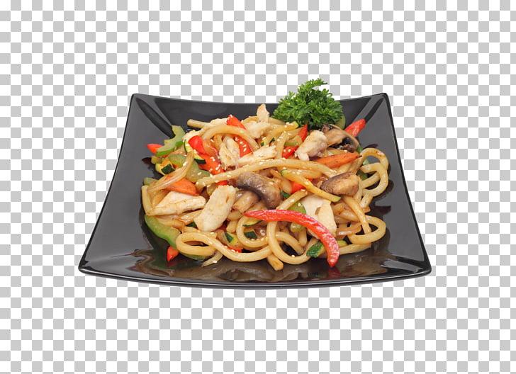 Yakisoba Yaki udon Chow mein Lo mein Chinese noodles, sushi.