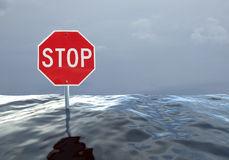 Hochwasser Stock Illustrations.