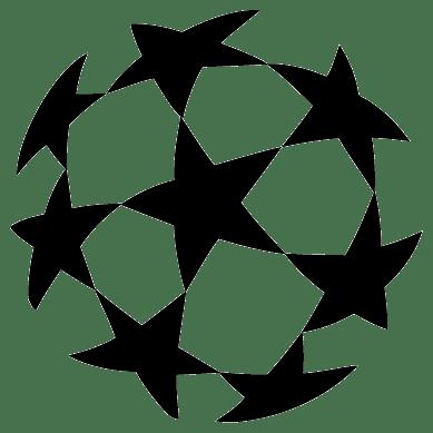 UEFA Champions League Ball Logo transparent PNG.