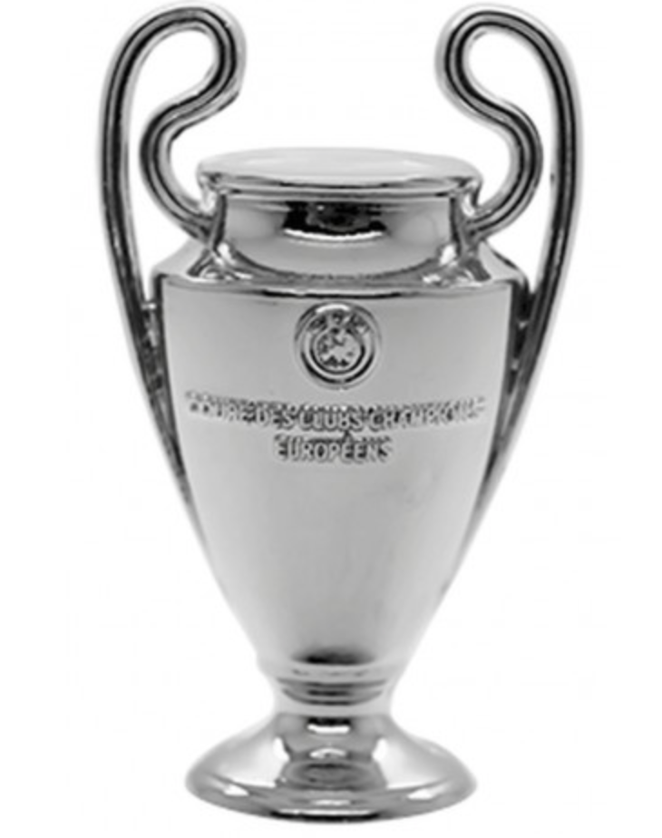 UCL Trophy Pin Badge.