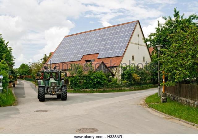 Apartment Building Solar Panels On Stock Photos & Apartment.
