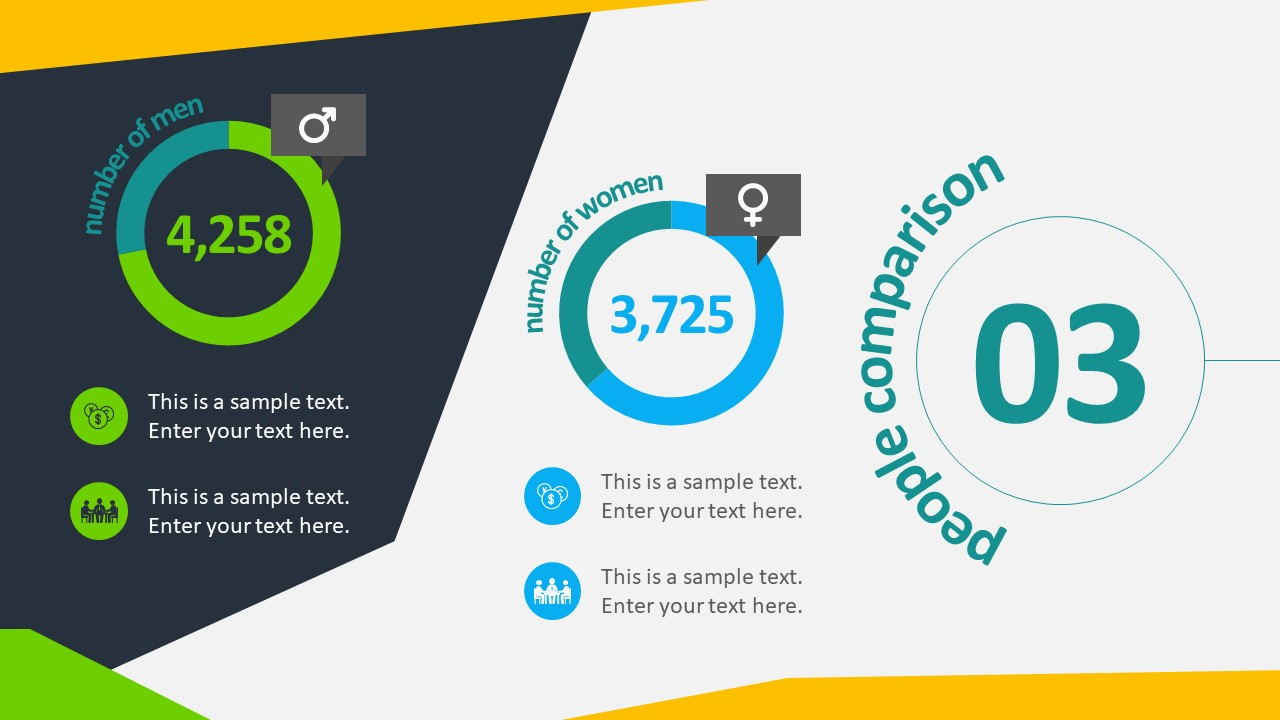 Free Animated Business Infographics PowerPoint Template.