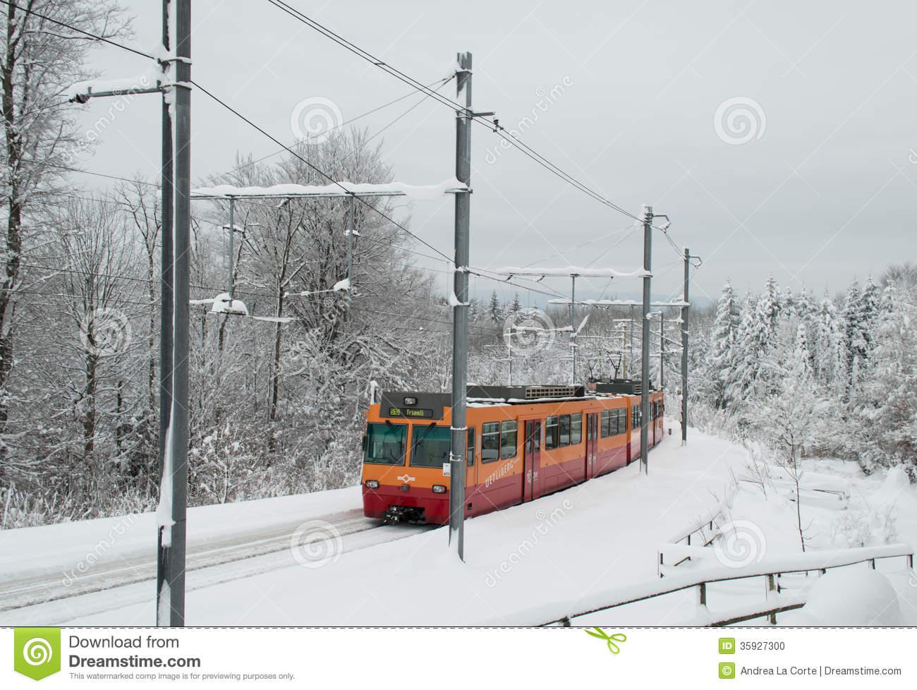 Uetliberg Train Editorial Photo.