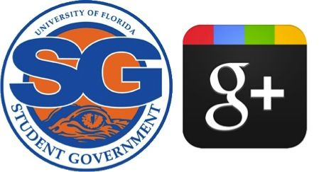 Add UF Student Government to your circles on Google+.