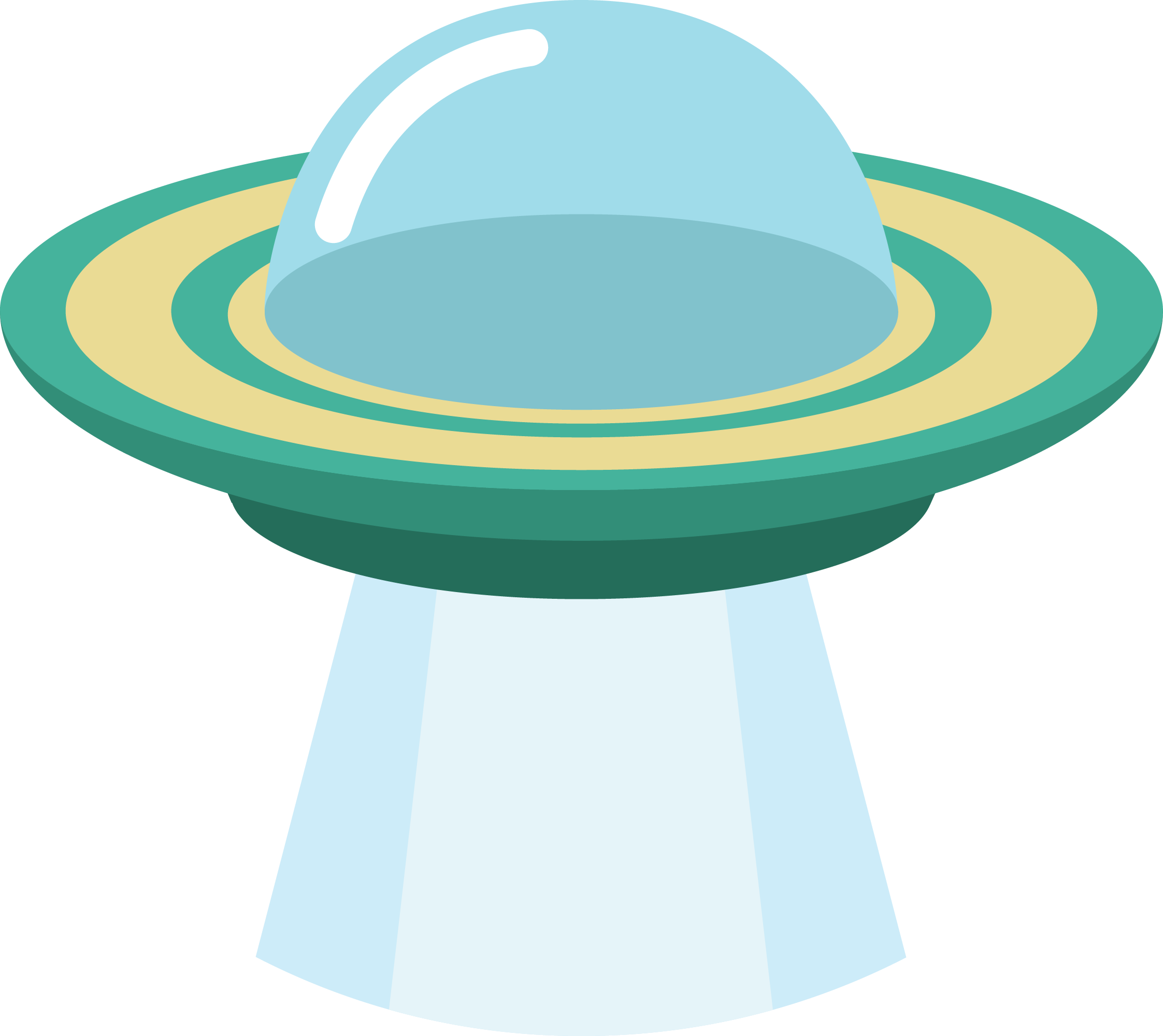 Ufo Clipart PNG Image.