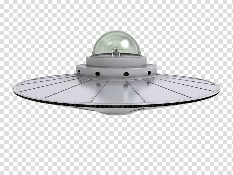 Flying Saucer, gray UFO transparent background PNG clipart.