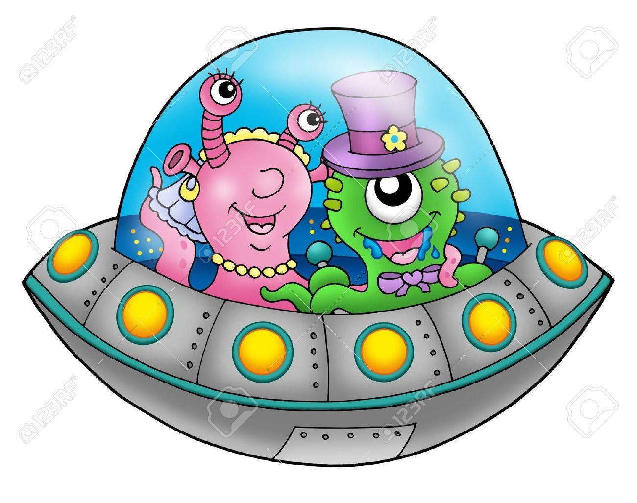 cartoon ufo clipart - photo #49