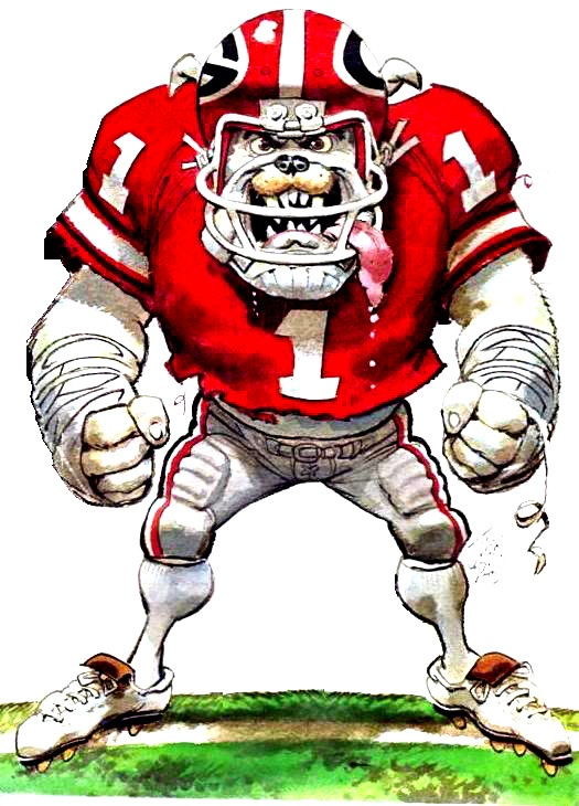 Uga Football Clipart.