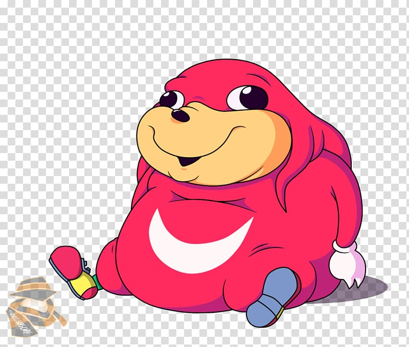 Knuckles the Echidna YouTube VRChat Ugandan Knuckles Dash.