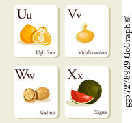 Ugli Fruit Stock Illustrations.