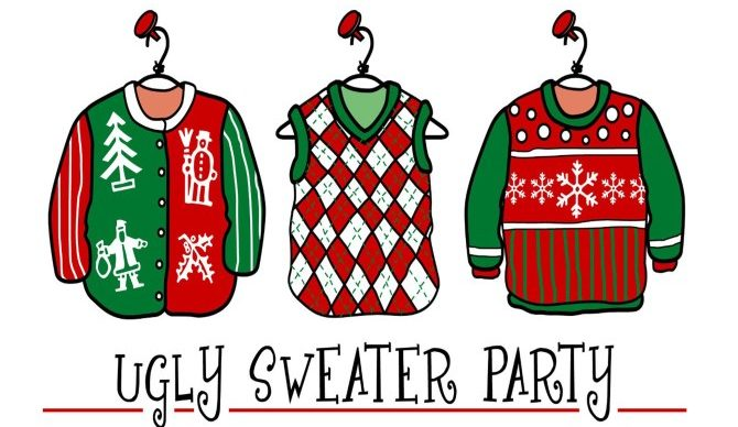 Ugly Christmas Sweater Party.