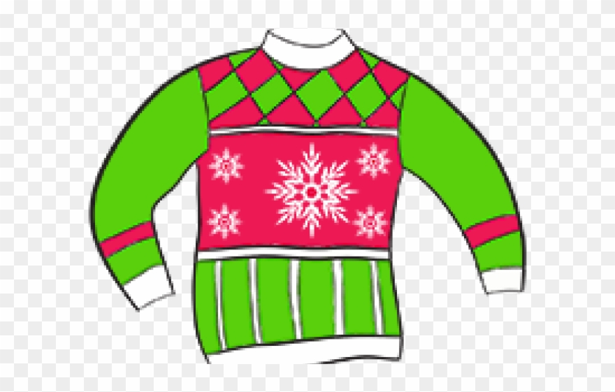 Crazy Clipart Sweater.