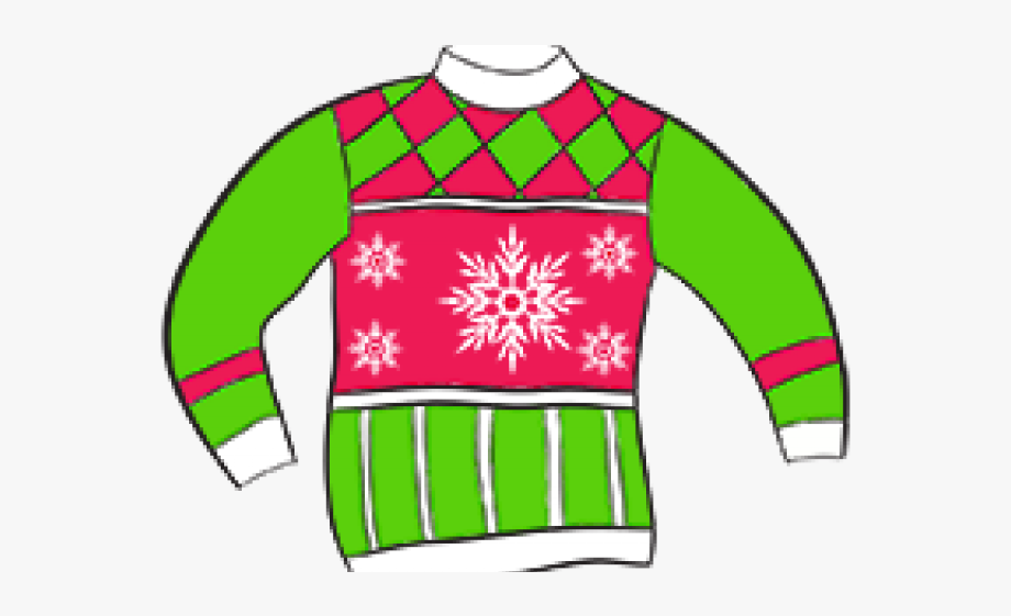 Ugly Christmas Sweater Clipart, Cliparts & Cartoons.