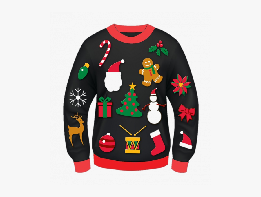 Don Your Ugliest Christmas Sweater To Shop Downtown.