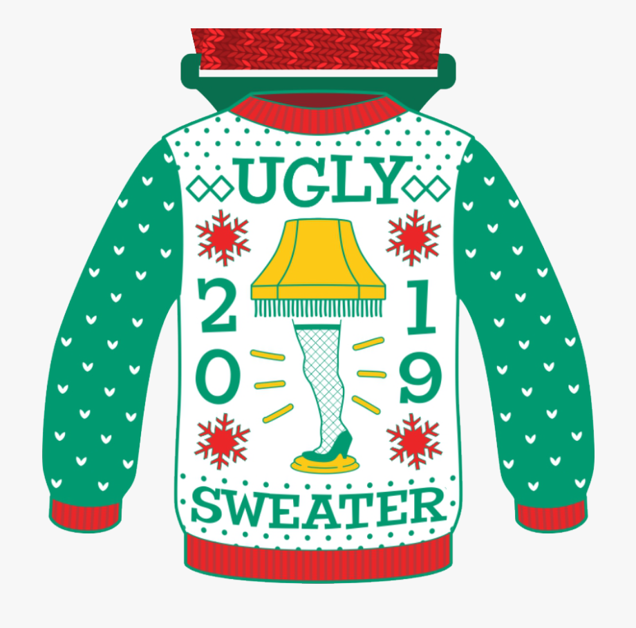 National Ugly Sweater Day 2019 , Transparent Cartoon, Free.