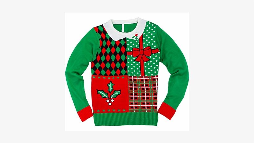 Ugly Christmas Sweater Png Jpg.