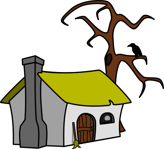 Ugly House Clipart.