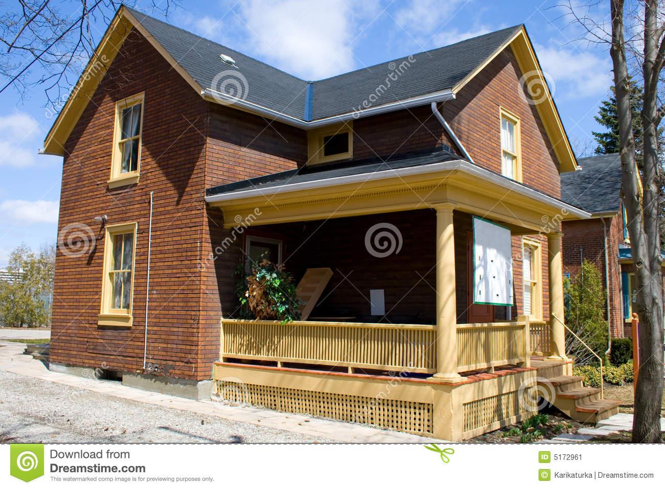 Ugly House Stock Image.