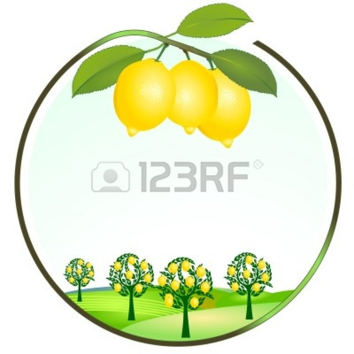 Lemon Clipart Vector Free.
