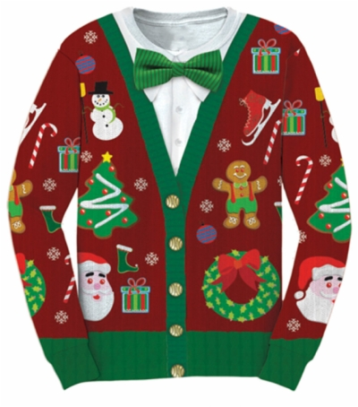 Result For: ugly sweater clip art , HD PNG , Free png.