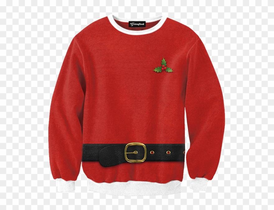 Christmas Sweater Png Santa Ugly Christmas Sweater.