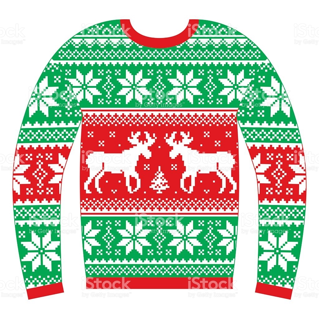 Ugly Sweater Clipart No Background.
