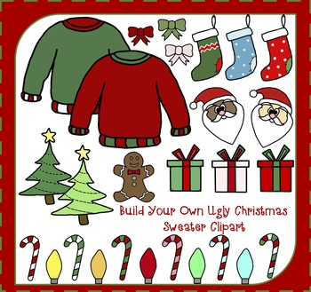 Build Your Own Christmas Sweater.