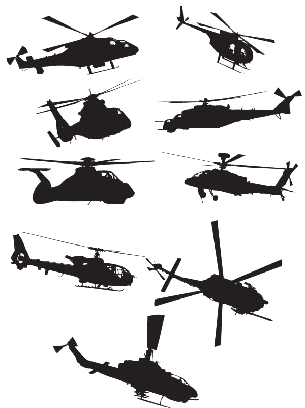 Military helicopter Sikorsky UH.