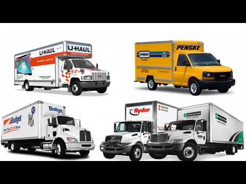The Best Moving Truck Rental Companies of 2020.